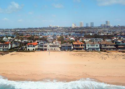 1712 E Oceanfront Drone Ocean